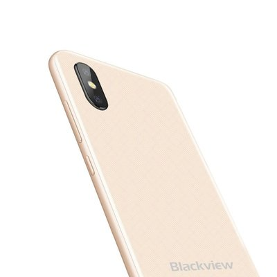 Blackview A30 5,5 inch Android 8.1 Quad Core 2500mAh 2GB/16GB Goud